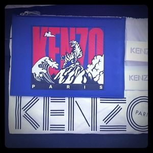 Brand New Kenzo Large Pouch